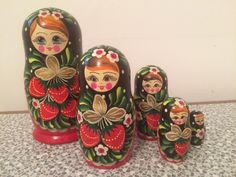A personal favorite from my Etsy shop https://www.etsy.com/uk/listing/474248429/vintage-wooden-russian-doll-with