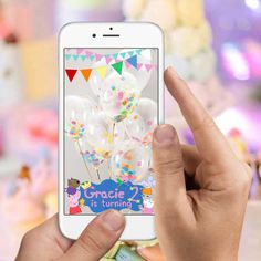 Peppa Pig Birthday Party Snapchat Filter with by LooksLikeGlitter