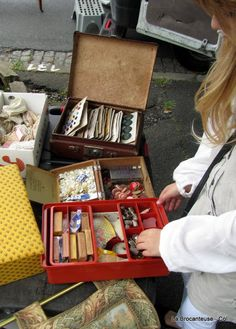 la Brocanteuse: French Brocante and fairs..