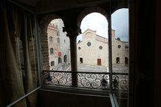 The View inside San Gimignano #sangimignano #winetasting #Italy #towers #degustazioni