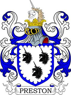 Preston Coat of Arms