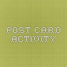 Post Card Activity