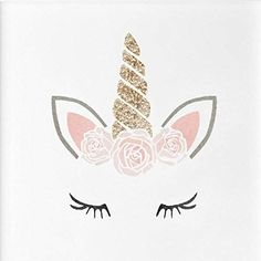 UNICORN LASHES Nursery Girls Bedroom Wall Furniture Floor Stencil for Painting - X Large
