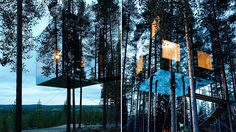 Most Beautiful Hotels 2016 - Mirror Cube Tree House Hotel, Sweden
