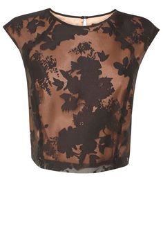 Cut with a flattering cropped waist, the Harper top is the perfect partner to this seasons chic Harper Skirt. For extra coverage a contrasting lining sits beautifully beneath the sheer floral lace over-lay. For a superb fit this top is closed with a concealed back zip.
