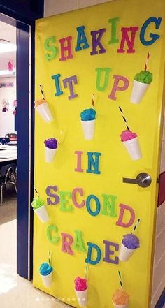 Fun Classroom Door Decorations to Welcome Students Back to School