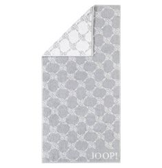 JOOP! Handtuch Serie Black & White Handtuch silber