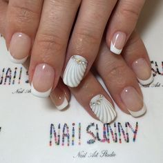 3d nails, Dimension nails, Elegant nails, Embossed nails, Fashion nails 2016, Fashion Nails by gel polish, French manicure, french manicure news 2016