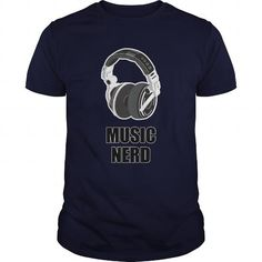 I Love Music Nerd Great Gift For Any Geek T shirts