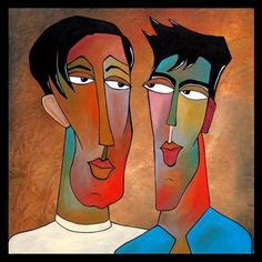 Art 'Faces1047 3030 Sage Advice 2' - by Thomas C. Fedro from Faces