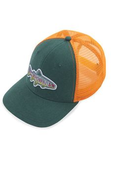 e9c7868b897 Find the Latest Men s Clothing at vineyardvines.com. VisorsTroutBrown TroutSalmon.  Trout Trucker Hat