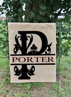 Personalized Garden Flag Garden Flag Garden Decor