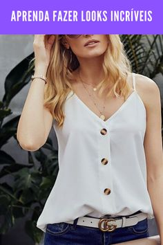 Fashion Outfits, Womens Fashion, Types Of Fashion Styles, Chiffon, Glamour, Crop Tops, Clothes For Women, My Style, Vogue