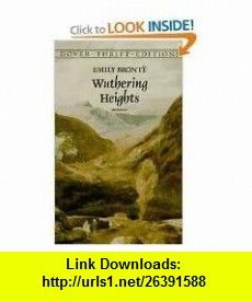 Wuthering Heights (Dover Thrift Editions) 1st (first) edition Text Only Emily Bront� ,   ,  , ASIN: B004UN1NXQ , tutorials , pdf , ebook , torrent , downloads , rapidshare , filesonic , hotfile , megaupload , fileserve