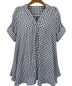GET $50 NOW | Join RoseGal: Get YOUR $50 NOW!http://m.rosegal.com/plus-size-tops/casual-stand-up-collar-short-162148.html?seid=7073021rg162148 Explore our amazing collection of plus size tops at http://wholesaleplussize.clothing/