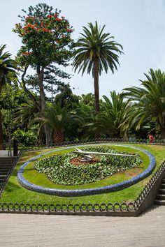 Flower Clock, Santa Cruz de Tenerife