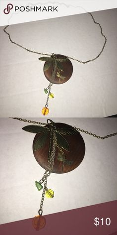 New dangle dragonfly necklace Dragon flies and charms dangle Jewelry Necklaces