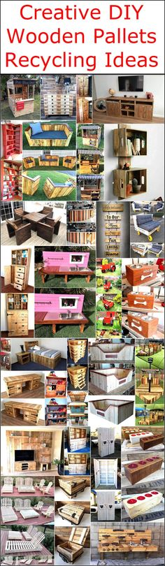 It is not necessary that creative minded people have the skills to turn their imagination into reality, but those who possess the skills can get the benefit from the individuals who use their mind for creativity. We are with the individuals who love to turn the used pallets into praise-worthy products due to which we gather the ideas created by the creative people and show them to those who can't imagine unique items, but can reshape the pallets if they are presented a unique idea. Here are…