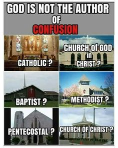 Which one did God say follow??? NONE! The bibe is to Israelites! Esau gave you religion and God gave commandments to Israel.