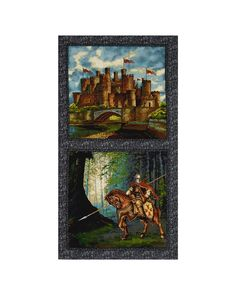 """From Exclusively Quilters, this quilting cotton print is perfect for quilting, apparel, and home decor accents. Colors include grey, blue, cream, brown, black, and red. Panel measures 23x44"""""""