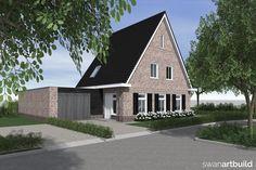 www.artbuild.nl Ontwerp vrijstaand woonhuis met Noord-Hollandse kenmerken.