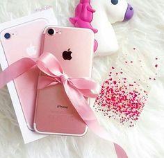 Imagen de iphone, pink, and unicorn