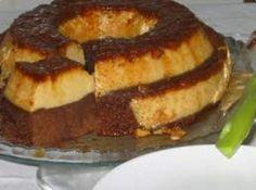 Receita de Bolo Pudim de Chocolate - bolo ao forno por aproximadamente 35 minutos. Depois de assado, esperar esfriar e...