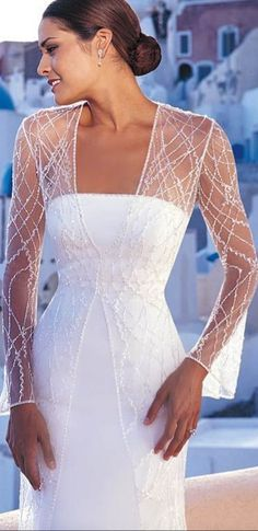 Wedding Dress Over 40, Second Wedding Dresses, 2015 Wedding Dresses, Country Wedding Dresses, Bridal Dresses, Second Weddings, Second Marriage Dress, Elegant Dresses, Beautiful Dresses
