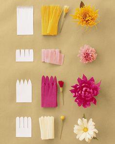 63 Best Paper Ribbon Flower Making Images In 2020 Flower