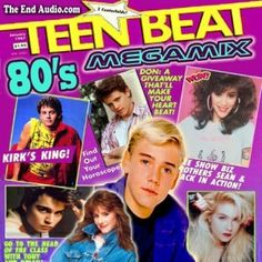 Teen Beat Magazine 1980s | ... Sean Astin And Corey Feldman! 1980's Awesomeness! | Mike The Fanboy