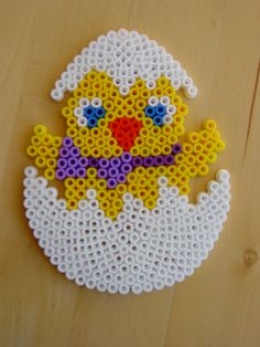 Easter egg hama beads by Hester