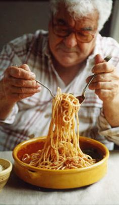This is the only way to make Bolognese!  I've tried many recipes for Bolognese and I can attest that Antonnio Carluccio's recipe is the best!