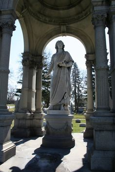 Forest Hill Cemetery, Utica, NY., est. 1850