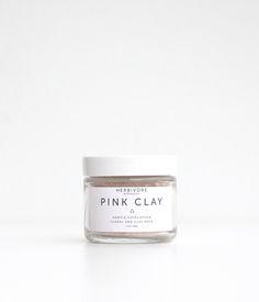 Pink Clay Maske – Herbivore Botanicals