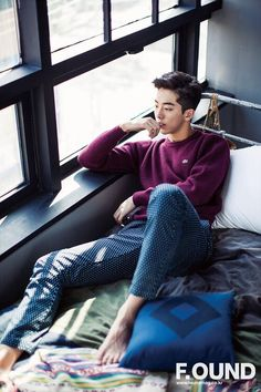 Nam Joo Hyuk - good point.. why go outside when you can stay in bed all day.....  :)