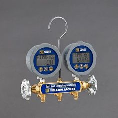 Refrigeration And Air Conditioning, Hvac Repair, Appliance Repair, Gauges, Yellow, Digital, Tools, Discount Price, Jackets
