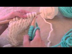 ¿Cómo cambiar los ovillos al hacer punto? - Aprender a tejer - YouTube