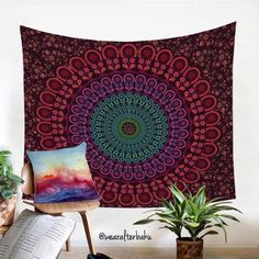 Cheap mandala wall tapestry, Buy Quality tapestry mandala directly from China bed sheet Suppliers: BeddingOutlet Indian Hippie Bohemia Tapestry Mandala Wall Tapestry Indian Polyester Bed Sheet Soft Wall Carpet 2017 Bohemian Tapestry, Mandala Tapestry, Wall Tapestry, Hippie Bedding, Geometric Mandala, Wall Carpet, Beautiful Wall, Dorm Decorations, Cushion Covers