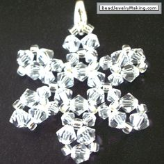 Holiday Stars and Snowflakes Jewelry Part 2