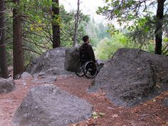 Mirror Lake in Yosemite National Park wheelchairtraveling.com