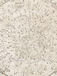 her-oubliette: indubio: Japanese star map Tenmon Bun'ya no zu -... | AnOther | Reader