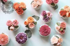 입속의 꽃 디플로라 플로라 가든 Flora Garden 좋은 곳에 쓰일 답례품 플라워컵케이크에요. 시원한 여름 ...