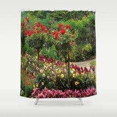 Flower Power Shower Curtain by Power Shower, Flower Power, Curtains, Flowers, Prints, Pictures, Painting, Art, Photos