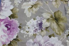Lavender Rose Eleta Fabric By The Yard Curtain by FabricMart
