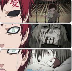 Gaara who despite his sad past overcame the monster wihin him and became a saviour. Itachi, Hinata, Naruto Shippuden, Boruto, Naruto Gaara, Shikamaru, Anime Naruto, Manga Anime, Naruto Series