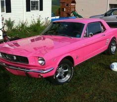 1967 Mustang PINK