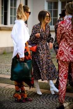 Eagle-eyed street style watchers will know floral maxi dresses have been the fashionista's go-to this season.