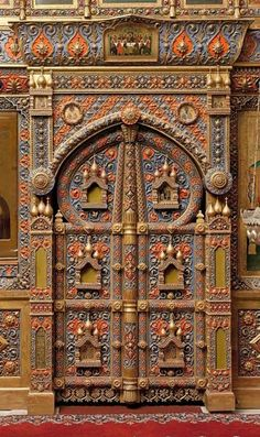 Saint Basil Cathedral Entrance.