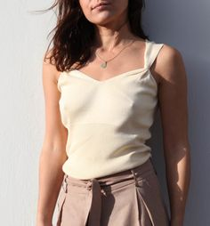 Silk and cotton beige blouse