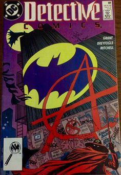 1st Appearance Anarky Cover Art by: Norm Breyfogle-1989